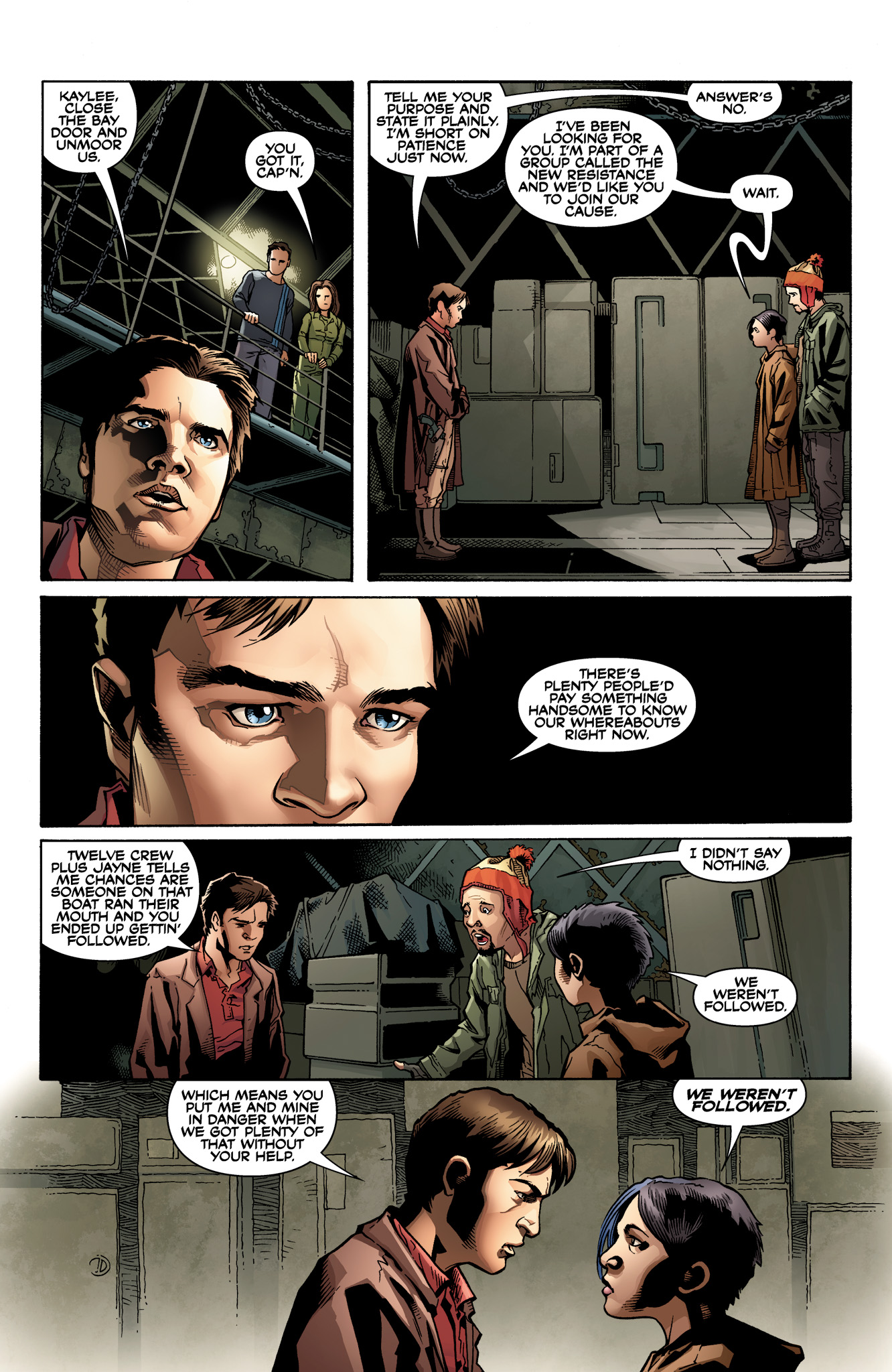 Read online Serenity: Firefly Class 03-K64  Leaves on the Wind comic -  Issue #2 - 16