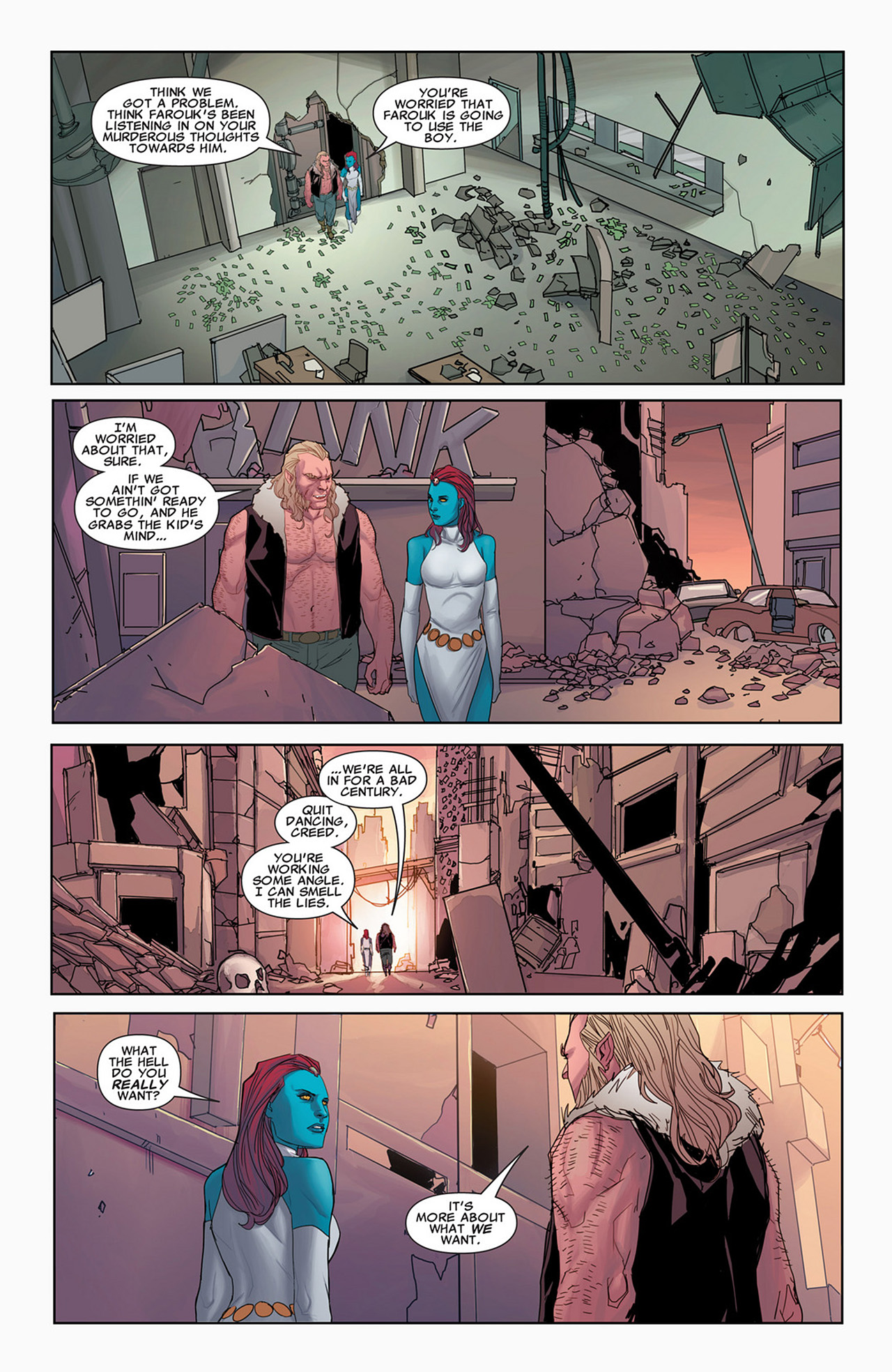 Read online Uncanny X-Force (2010) comic -  Issue #31 - 18