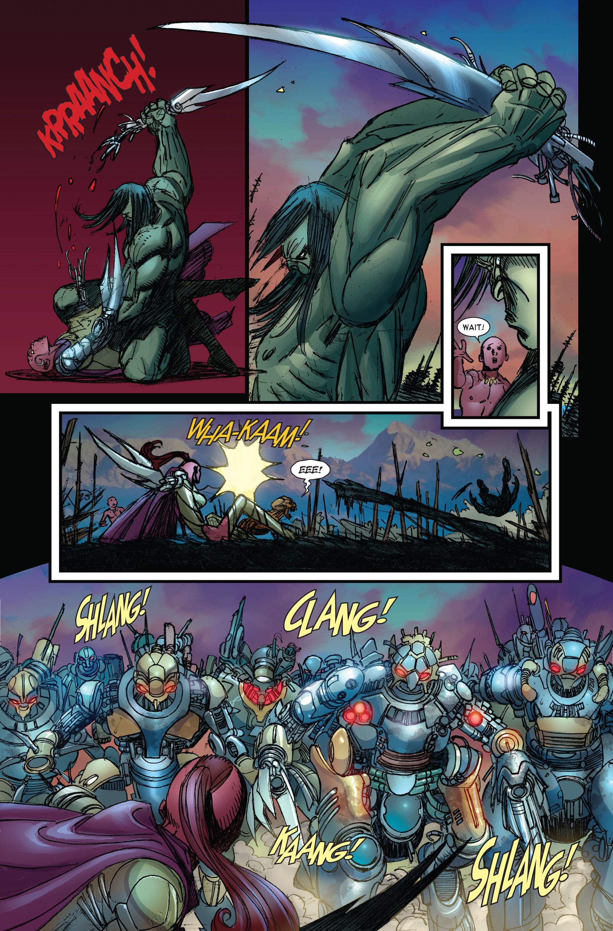 Read online Skaar: Son of Hulk comic -  Issue #3 - 11