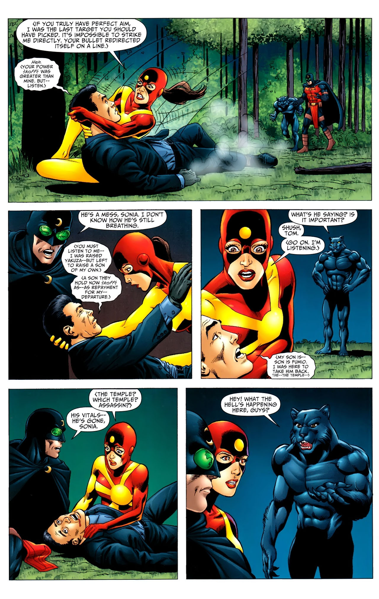 Read online JSA 80-Page Giant 2011 comic -  Issue # Full - 16