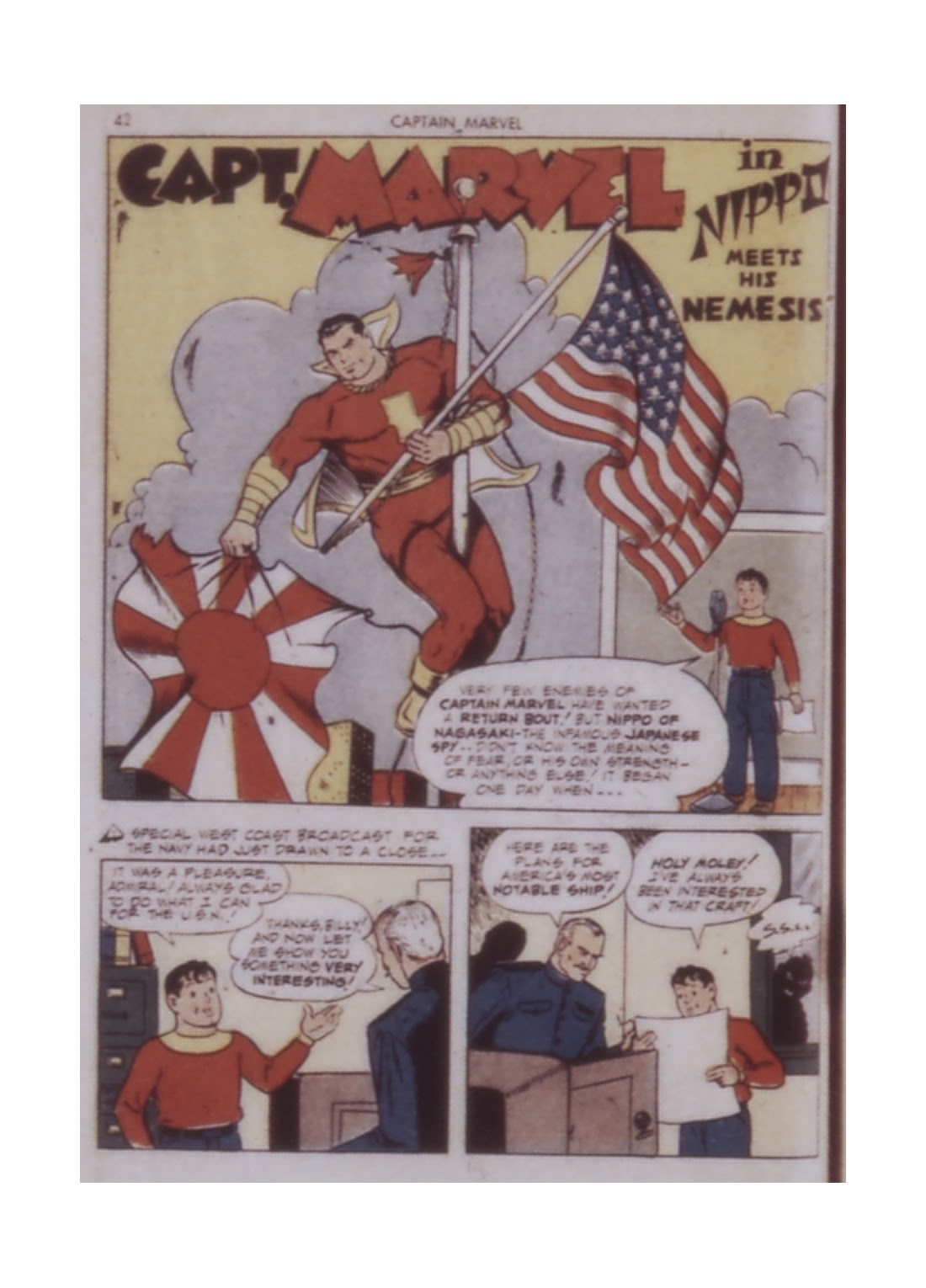 Captain Marvel Adventures issue 14 - Page 42