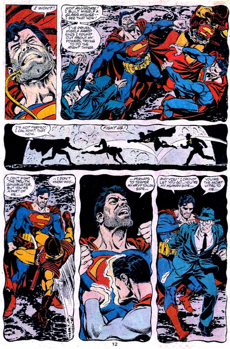 Read online Adventures of Superman (1987) comic -  Issue #453 - 12