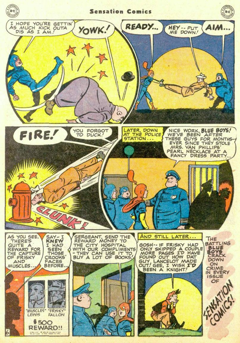 Read online Sensation (Mystery) Comics comic -  Issue #67 - 22