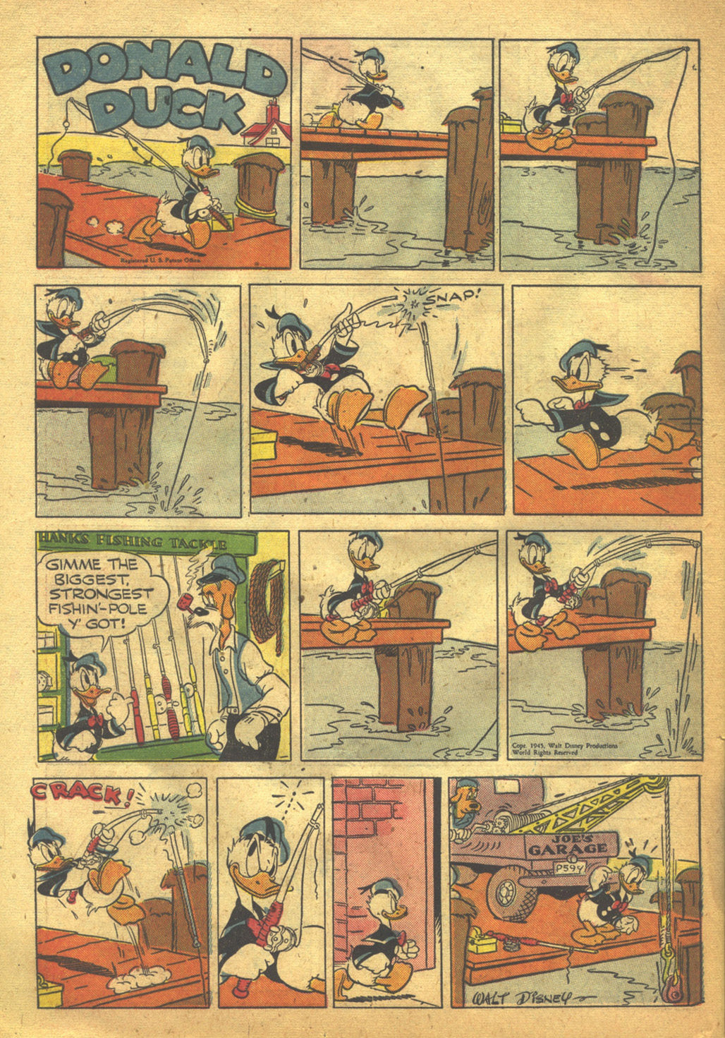 Walt Disney's Comics and Stories issue 62 - Page 38