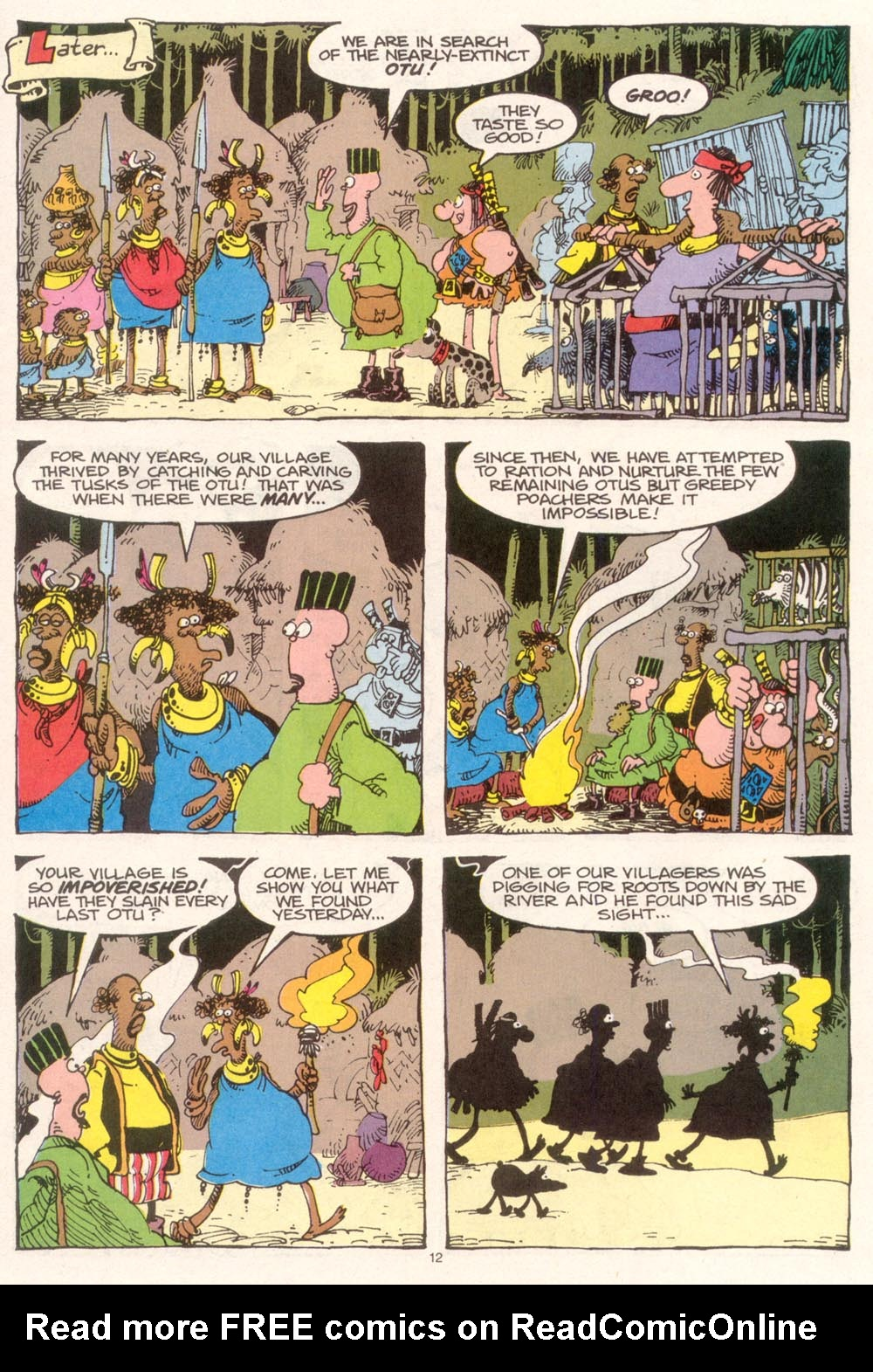 Read online Sergio Aragonés Groo the Wanderer comic -  Issue #95 - 13