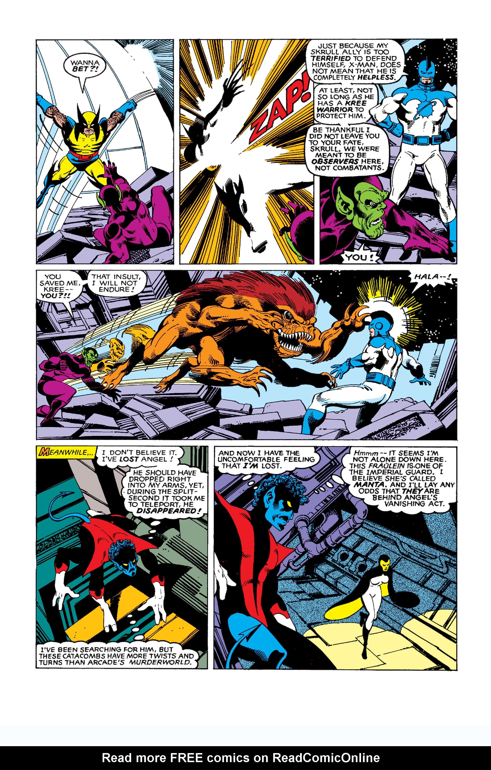 Uncanny X-Men (1963) 137 Page 22