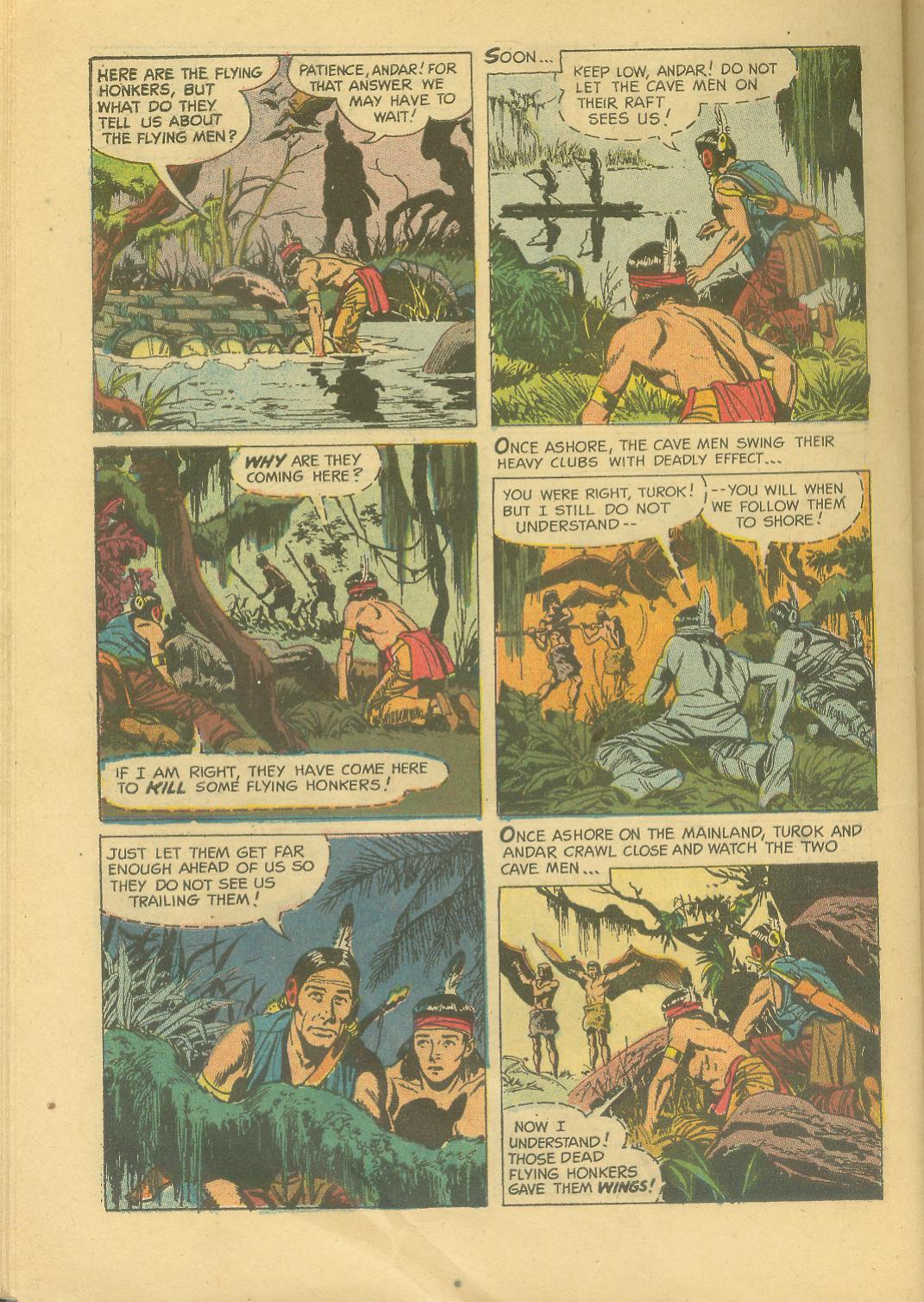 Read online Turok, Son of Stone comic -  Issue #25 - 30