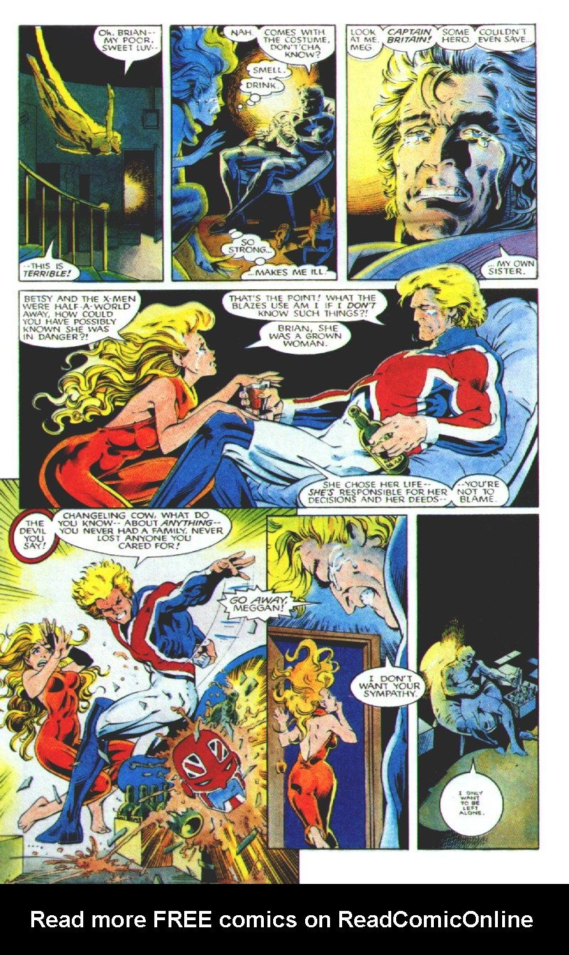 Read online Excalibur: The Sword is Drawn comic -  Issue # Full - 13