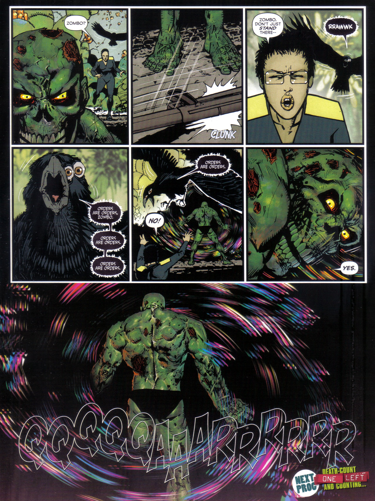 Read online 2000 AD comic -  Issue #1746 - 35