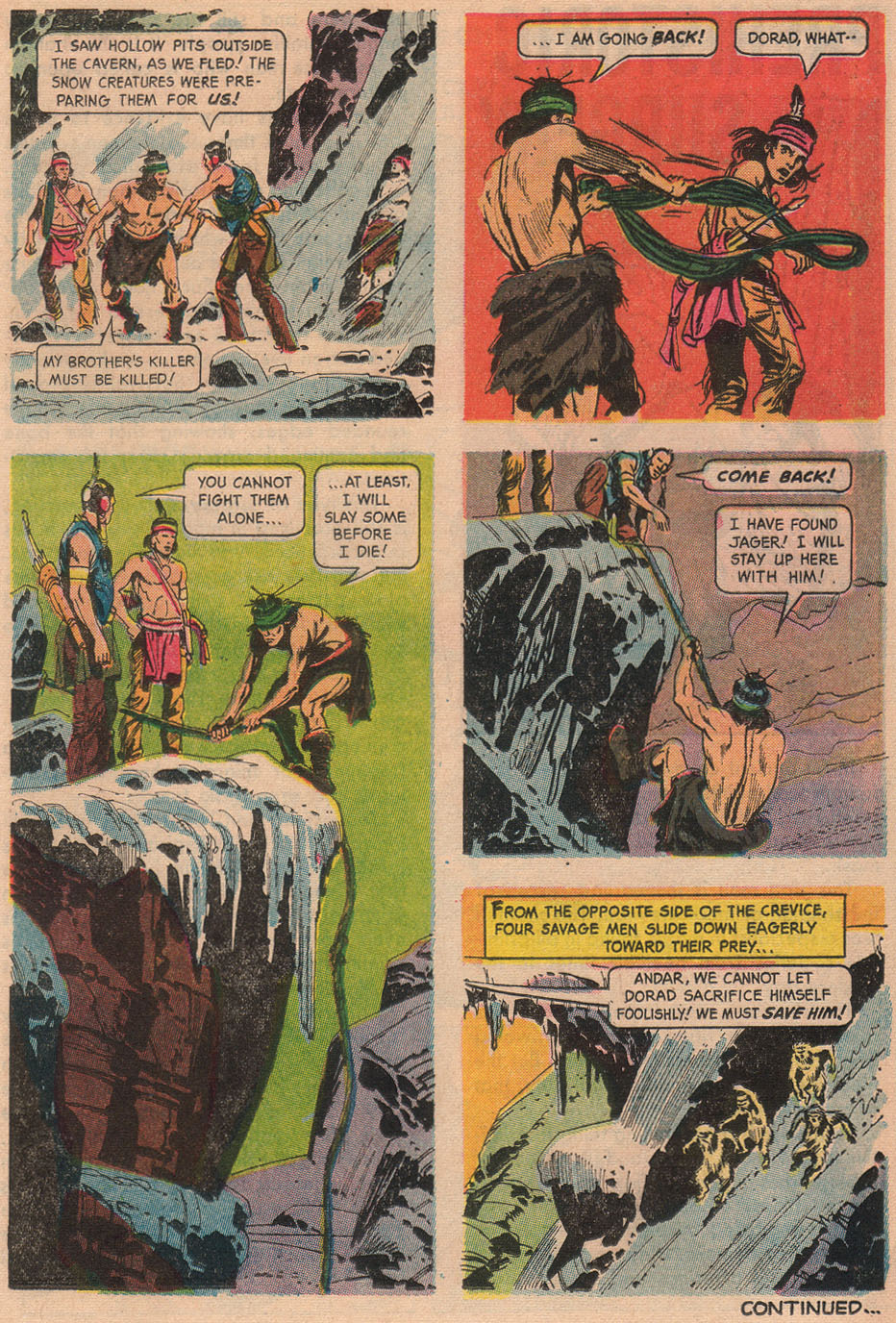 Read online Turok, Son of Stone comic -  Issue #48 - 17