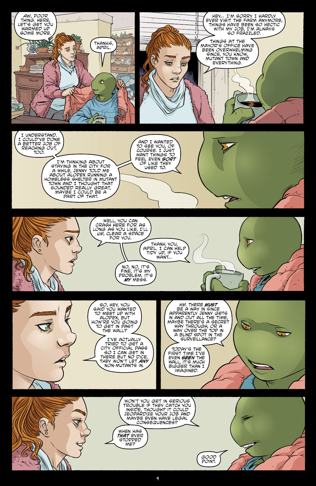 Read online Teenage Mutant Ninja Turtles (2011) comic -  Issue #103 - 6