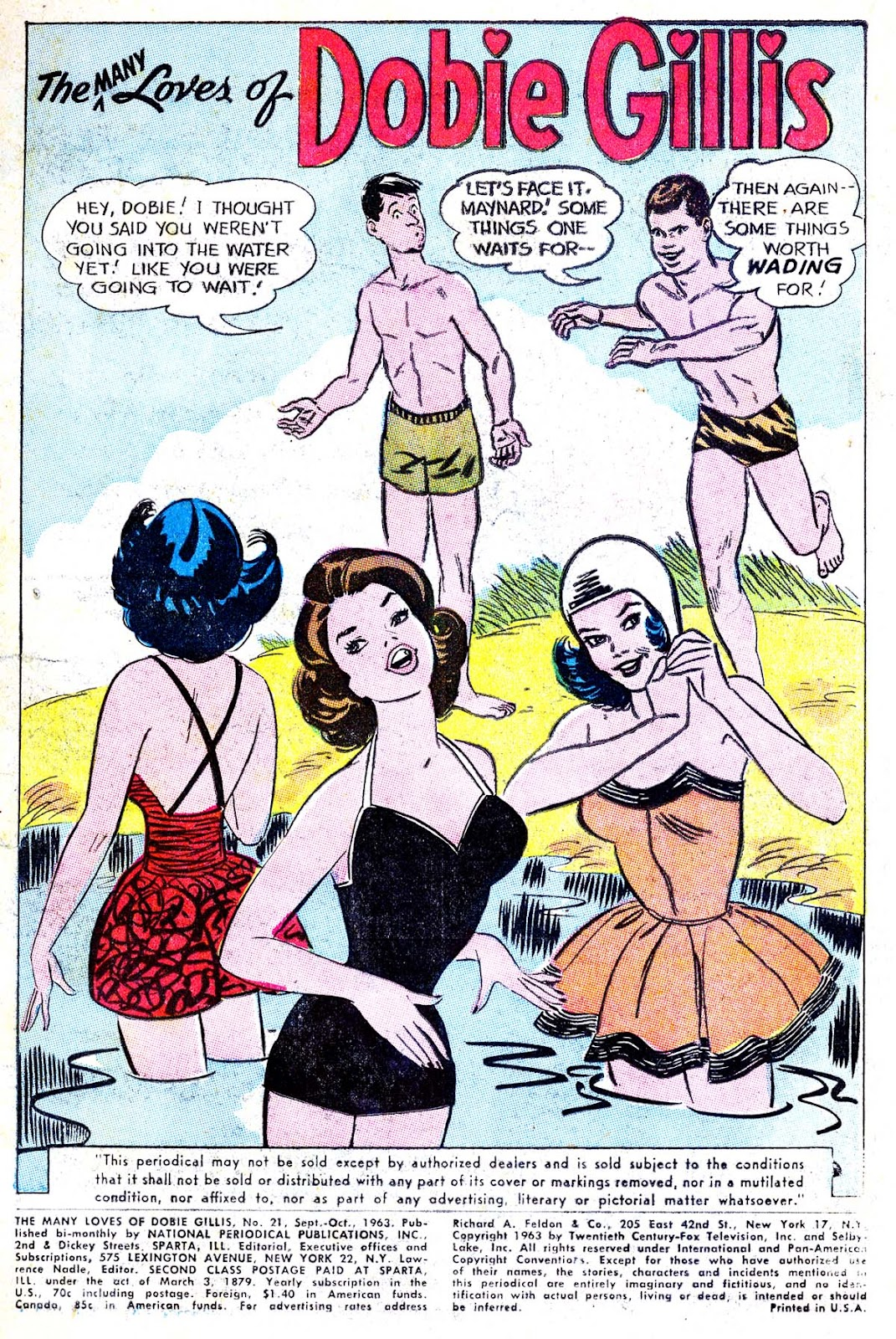 Many Loves of Dobie Gillis issue 21 - Page 3