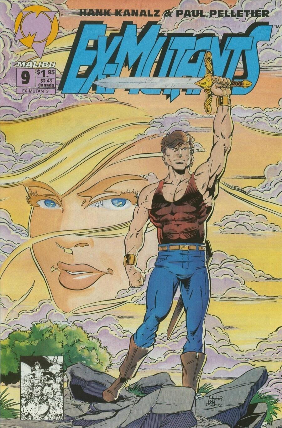 Read online Ex-Mutants comic -  Issue #9 - 1
