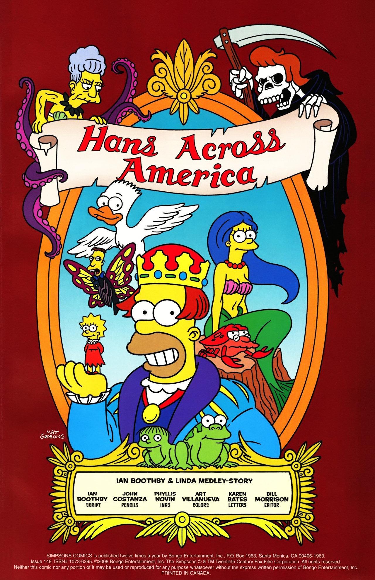 Read online Simpsons Comics comic -  Issue #148 - 2
