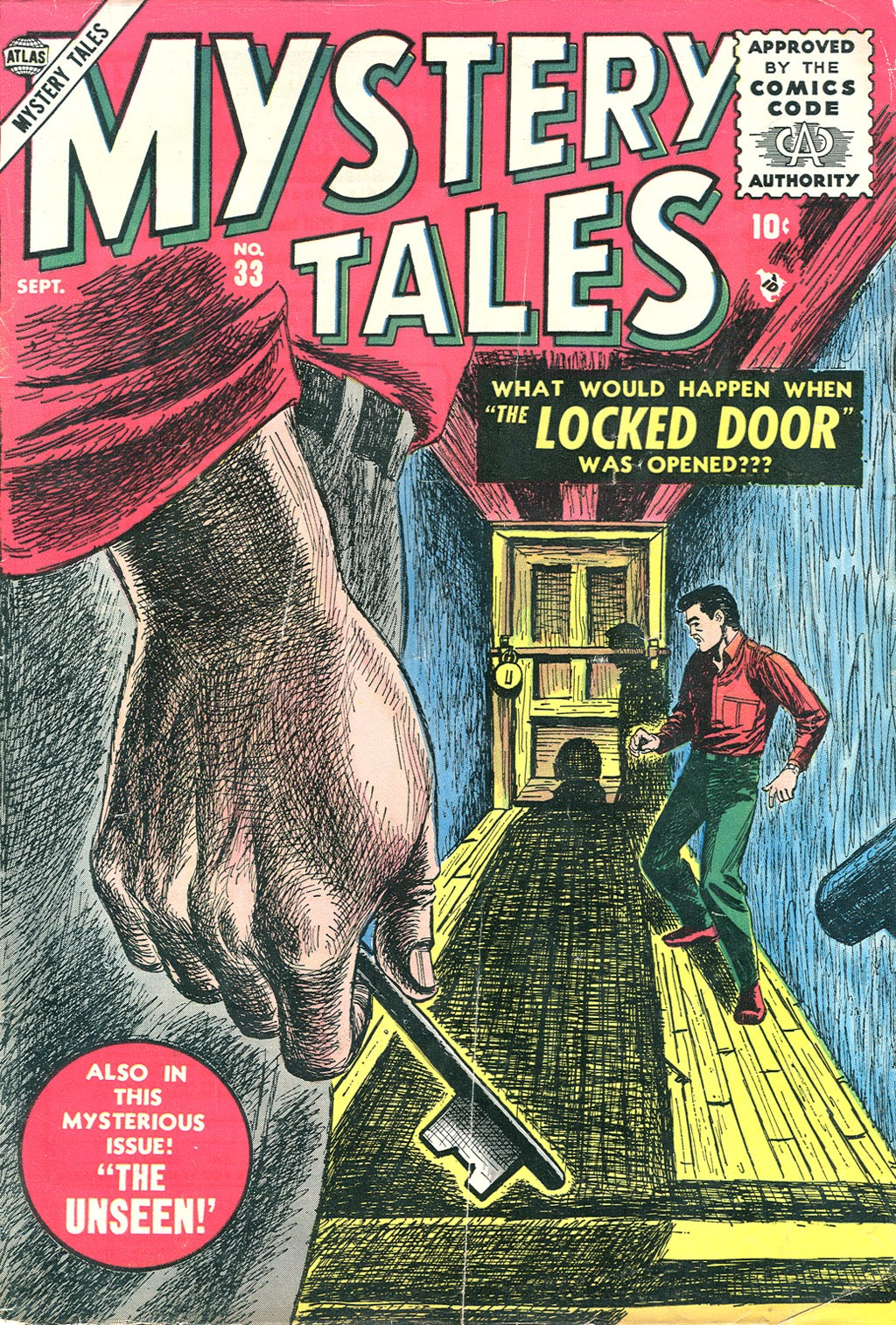 Mystery Tales 33 Page 1