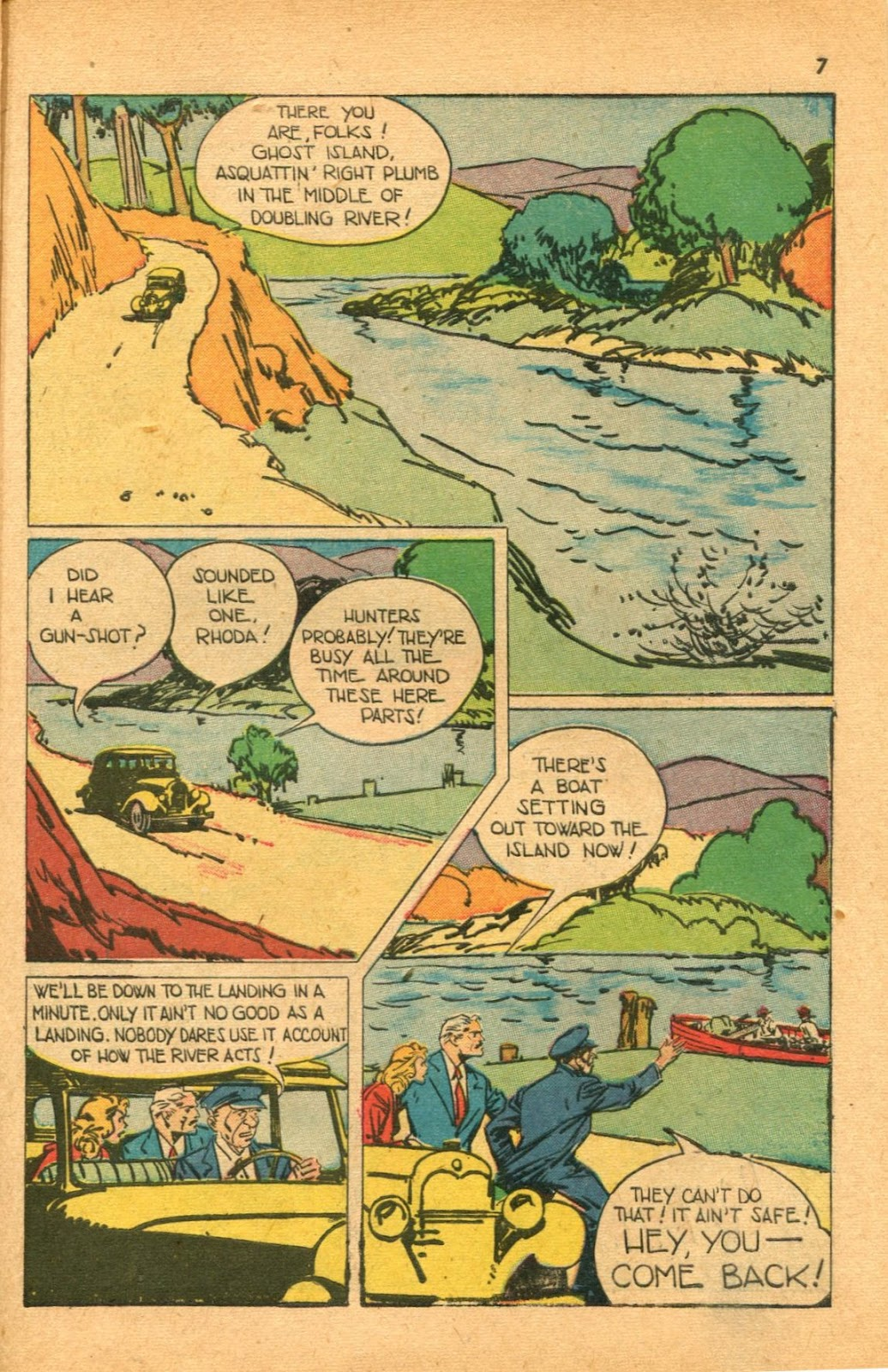 Read online Super-Magician Comics comic -  Issue #46 - 7