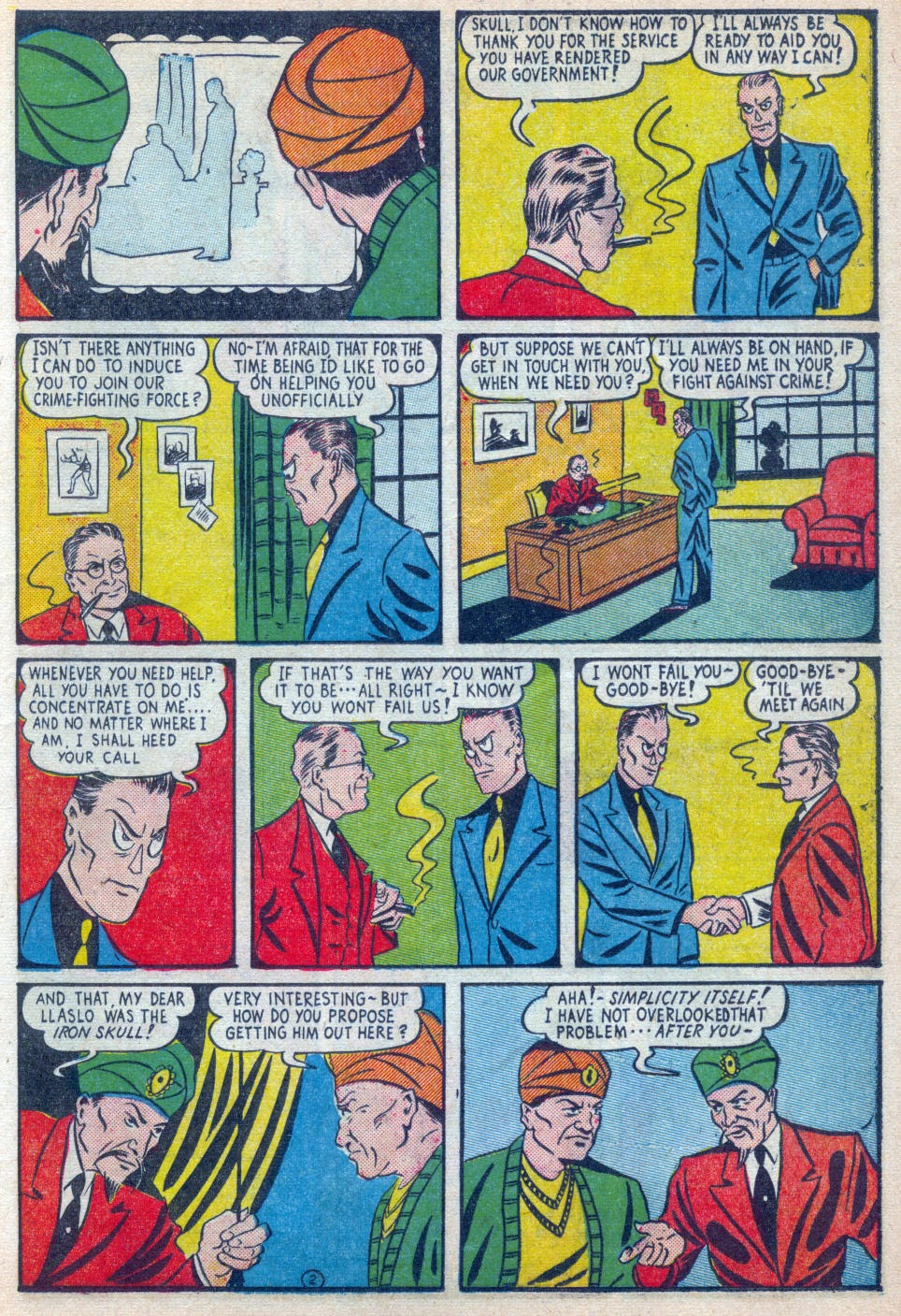 Read online Amazing Man Comics comic -  Issue #15 - 20