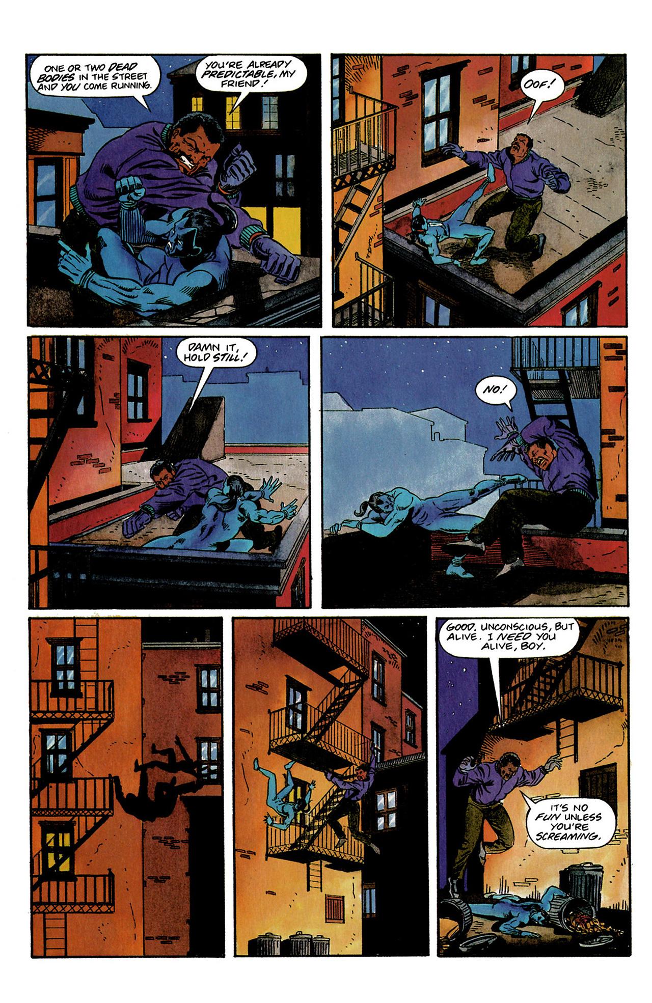 Read online Shadowman (1992) comic -  Issue #3 - 17