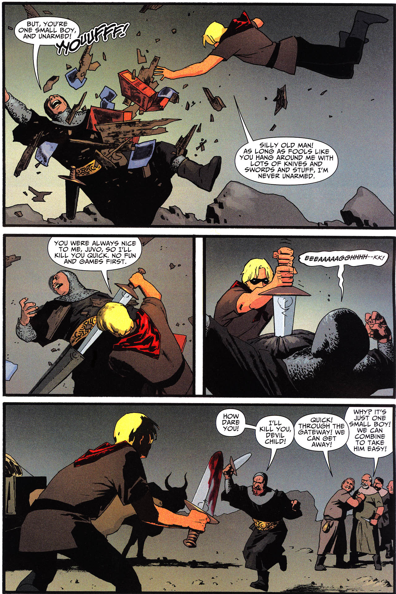 Read online Shadowpact comic -  Issue #13 - 7
