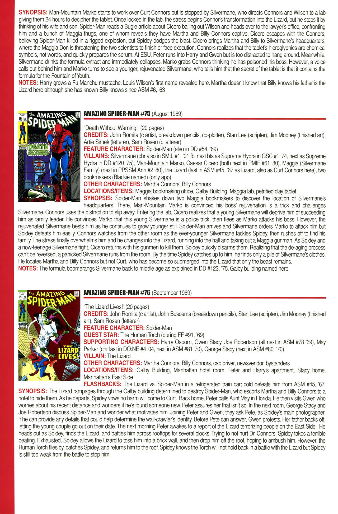 Read online Official Index to the Marvel Universe comic -  Issue #2 - 12