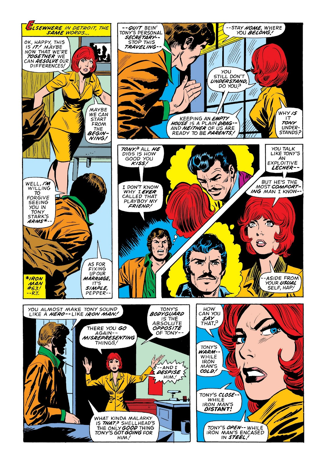 Read online Marvel Masterworks: The Invincible Iron Man comic -  Issue # TPB 9 (Part 3) - 39