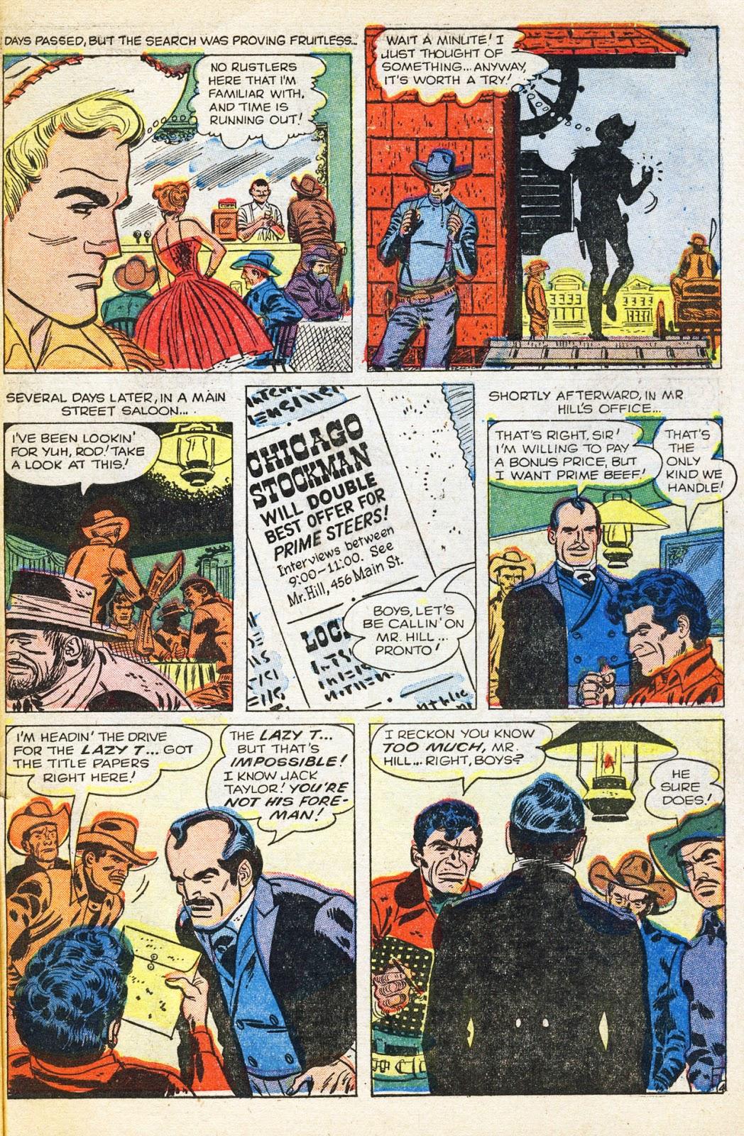 Gunsmoke Western issue 38 - Page 32