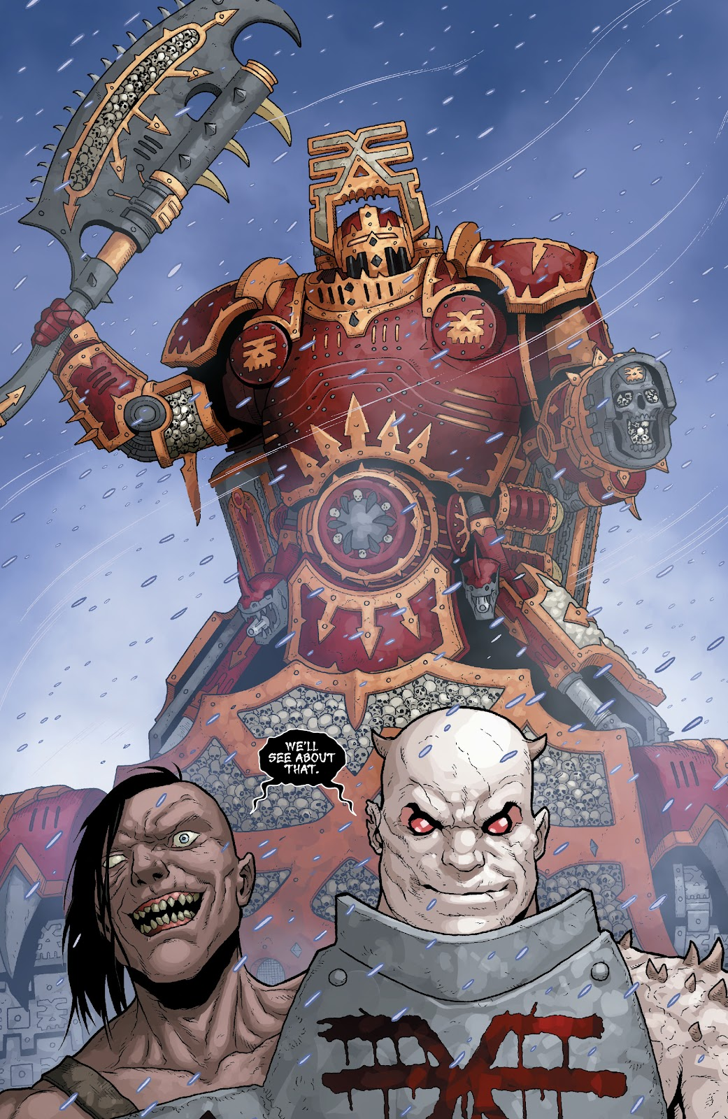 Warhammer 40,000: Marneus Calgar issue 5 - Page 4