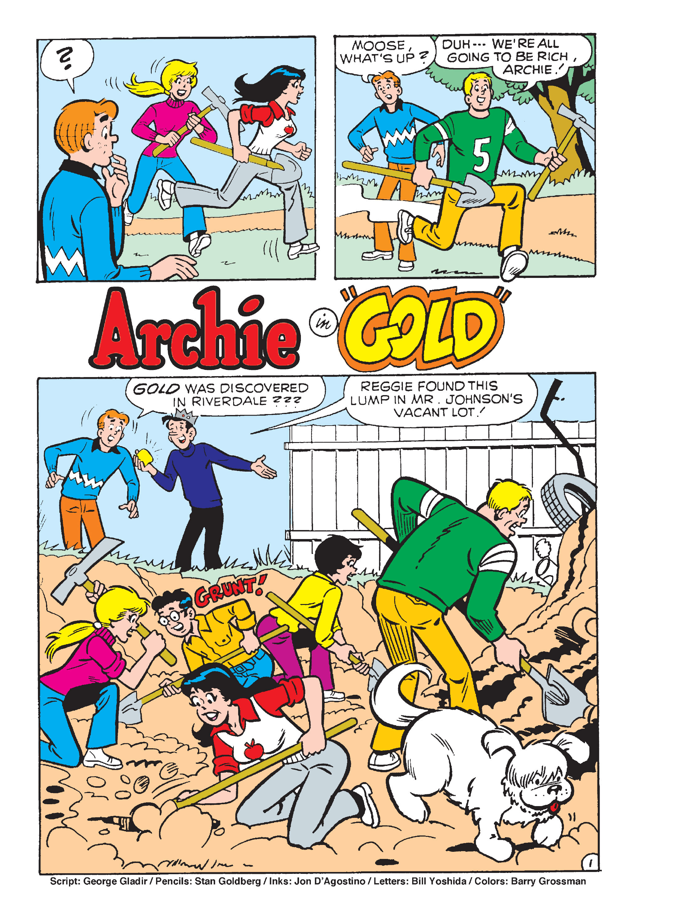 Read online Archie's Funhouse Double Digest comic -  Issue #15 - 113