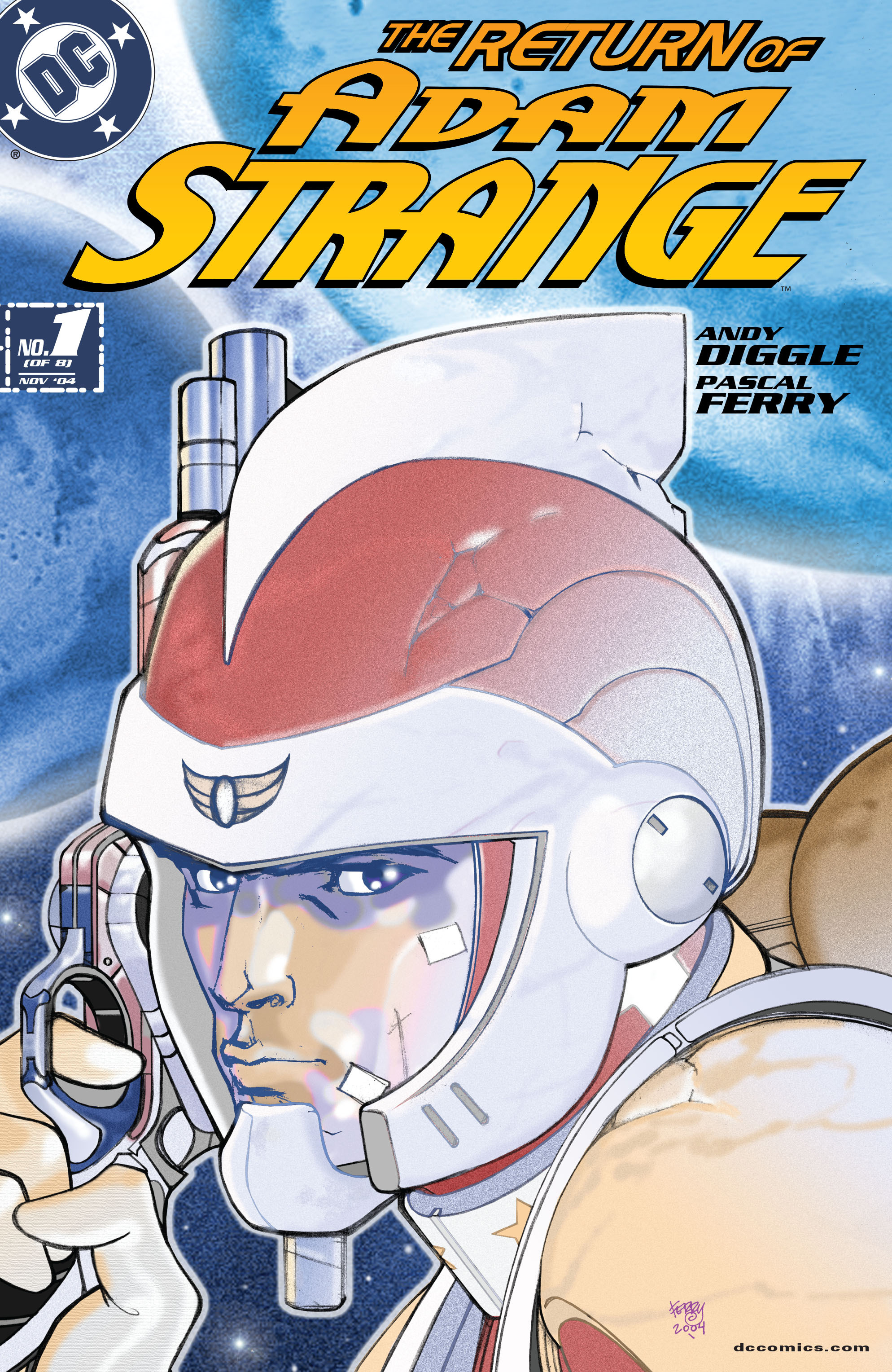 Read online Adam Strange (2004) comic -  Issue #1 - 1