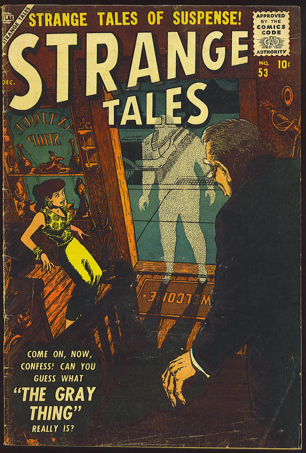 Strange Tales (1951) 53 Page 1