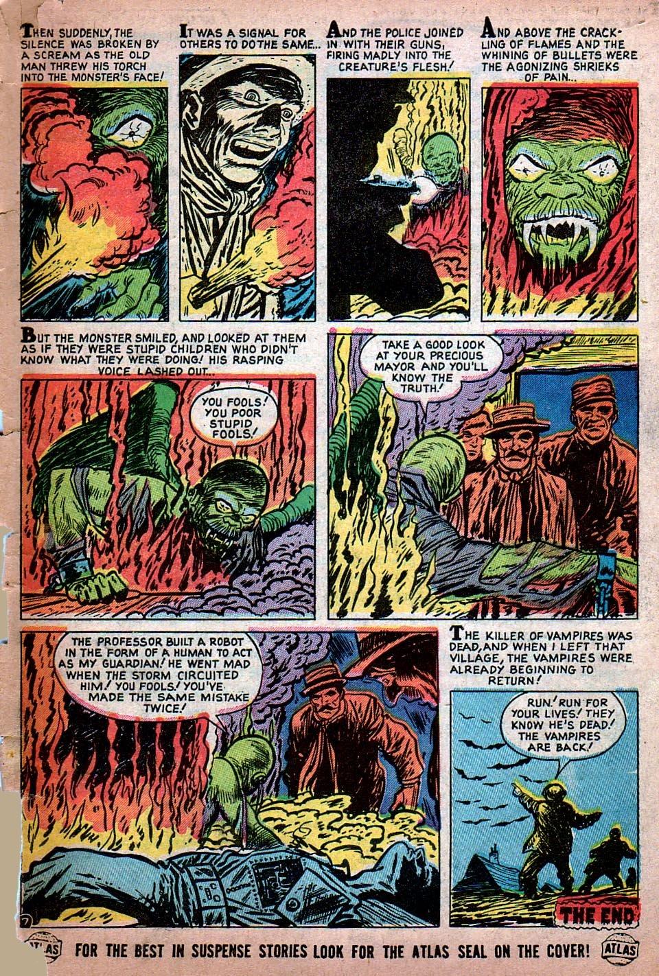 Read online Adventures into Weird Worlds comic -  Issue #15 - 8
