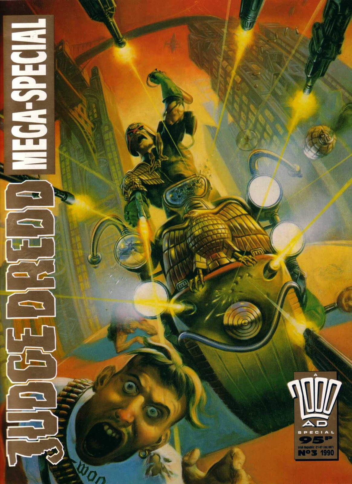 Judge Dredd Mega-Special 3 Page 1