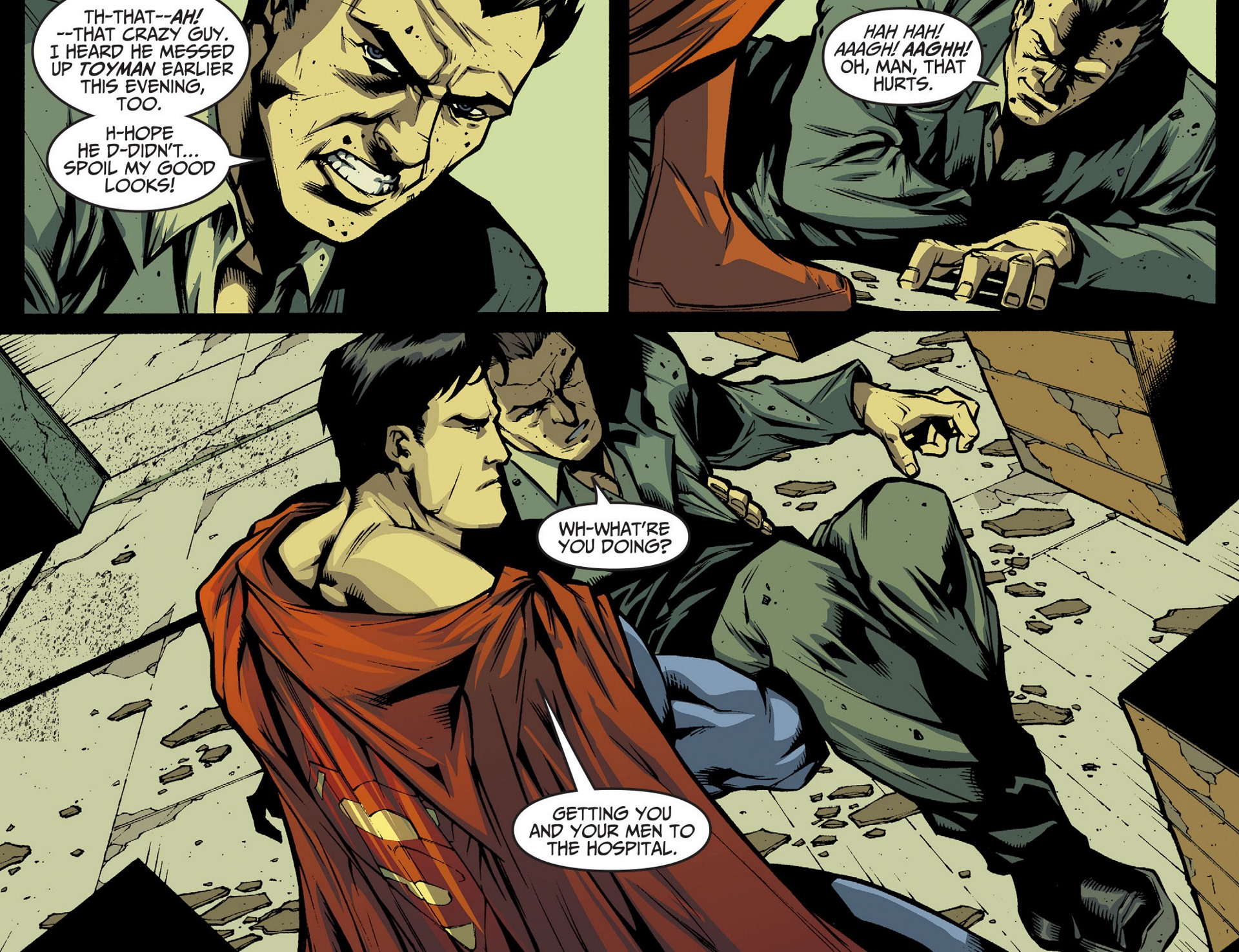 Read online Adventures of Superman [I] comic -  Issue #34 - 14