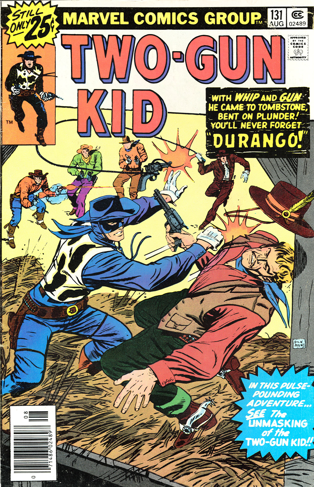 Read online Two-Gun Kid comic -  Issue #131 - 1