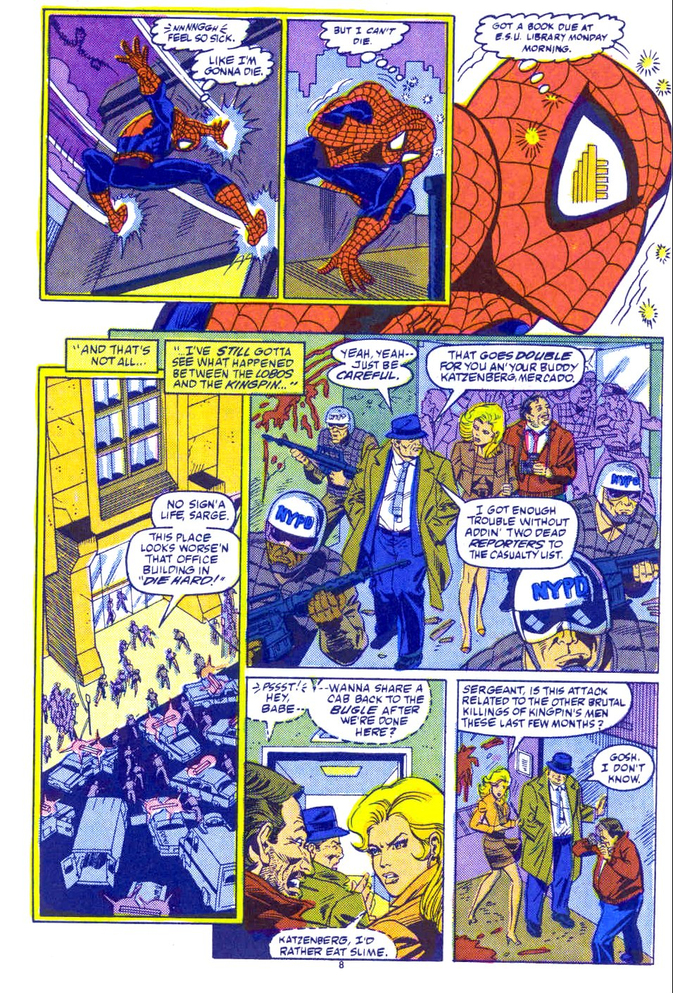 Web of Spider-Man (1985) Issue #54 #64 - English 7