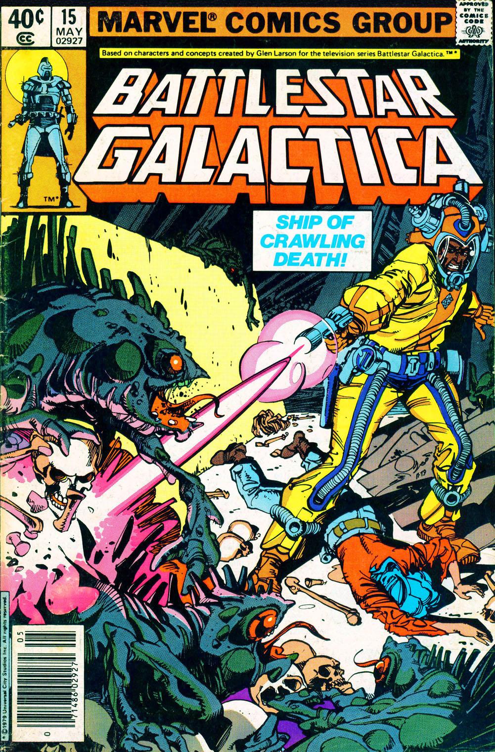 Battlestar Galactica 15 Page 1