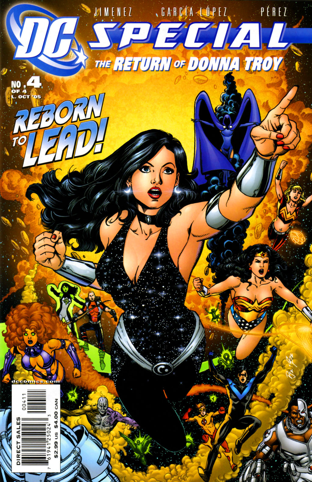 DC Special: The Return of Donna Troy 4 Page 1