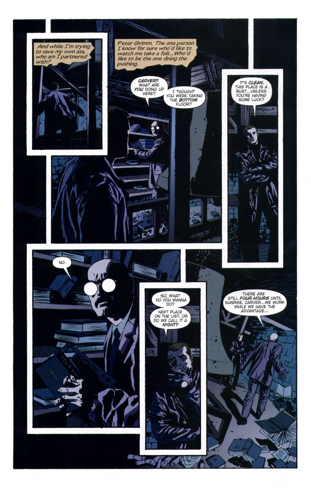 Read online Sleeper comic -  Issue #9 - 4