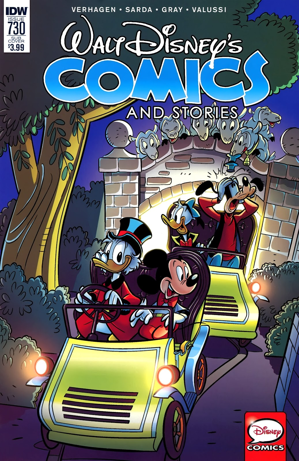 Walt Disneys Comics and Stories issue 730 - Page 1