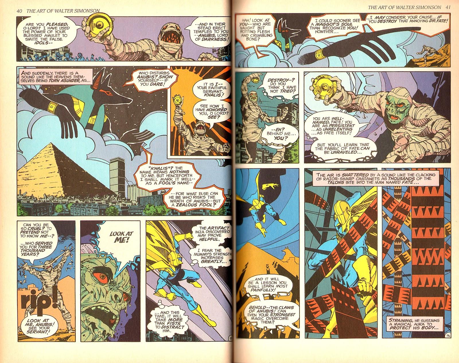 Read online The Art of Walter Simonson comic -  Issue # TPB - 22