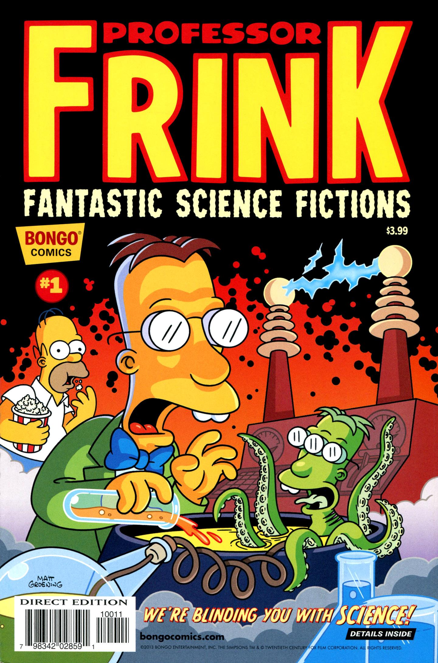 Read online Simpsons One-Shot Wonders: Professor Frink comic -  Issue # Full - 1