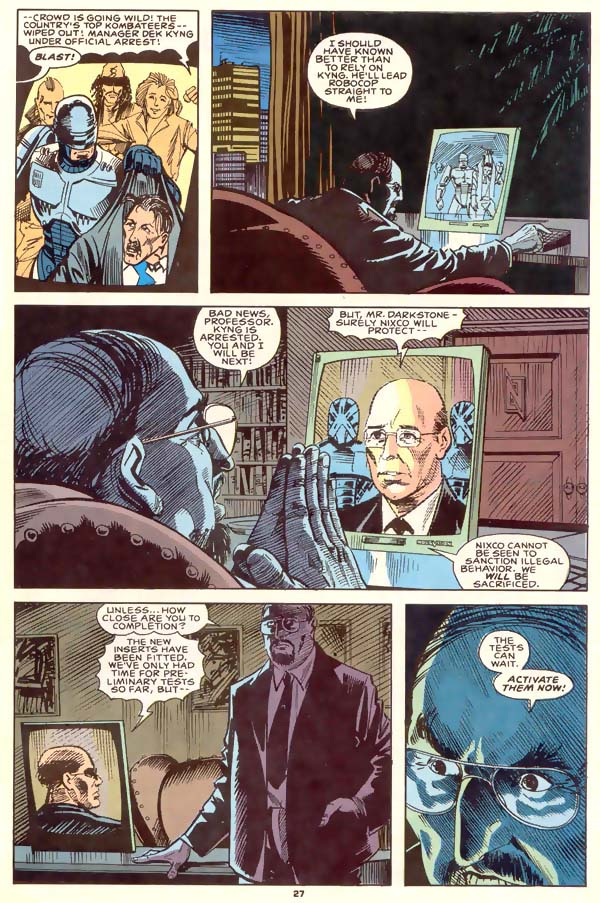 Read online Robocop (1990) comic -  Issue #1 - 21