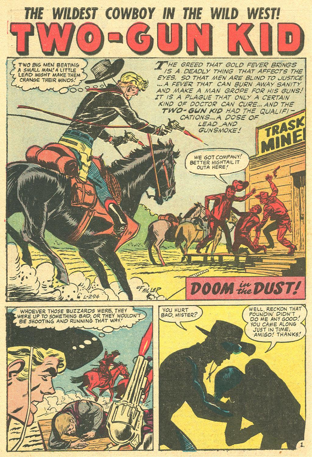 Read online Two-Gun Kid comic -  Issue #36 - 10