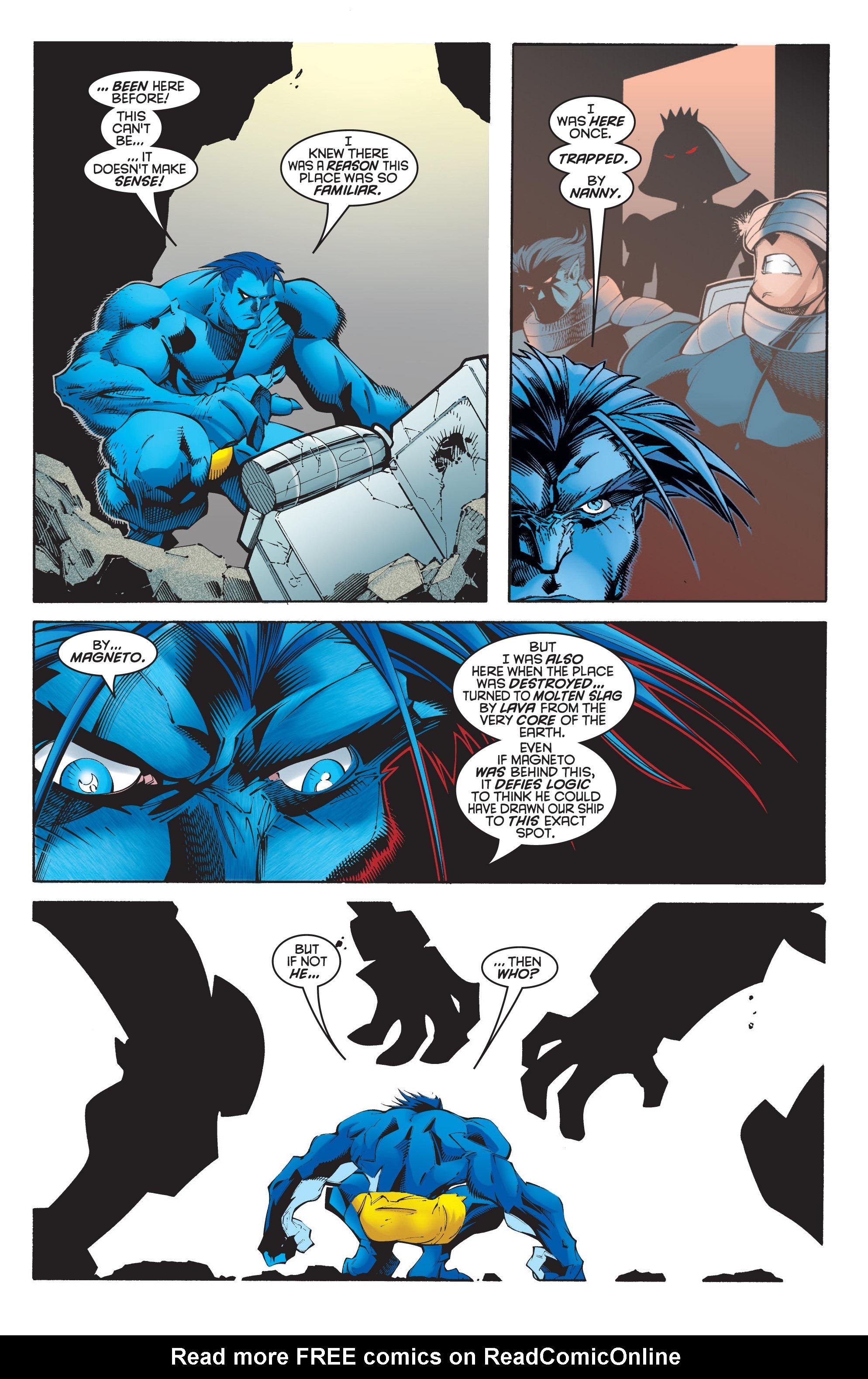 Read online Uncanny X-Men (1963) comic -  Issue #348 - 16
