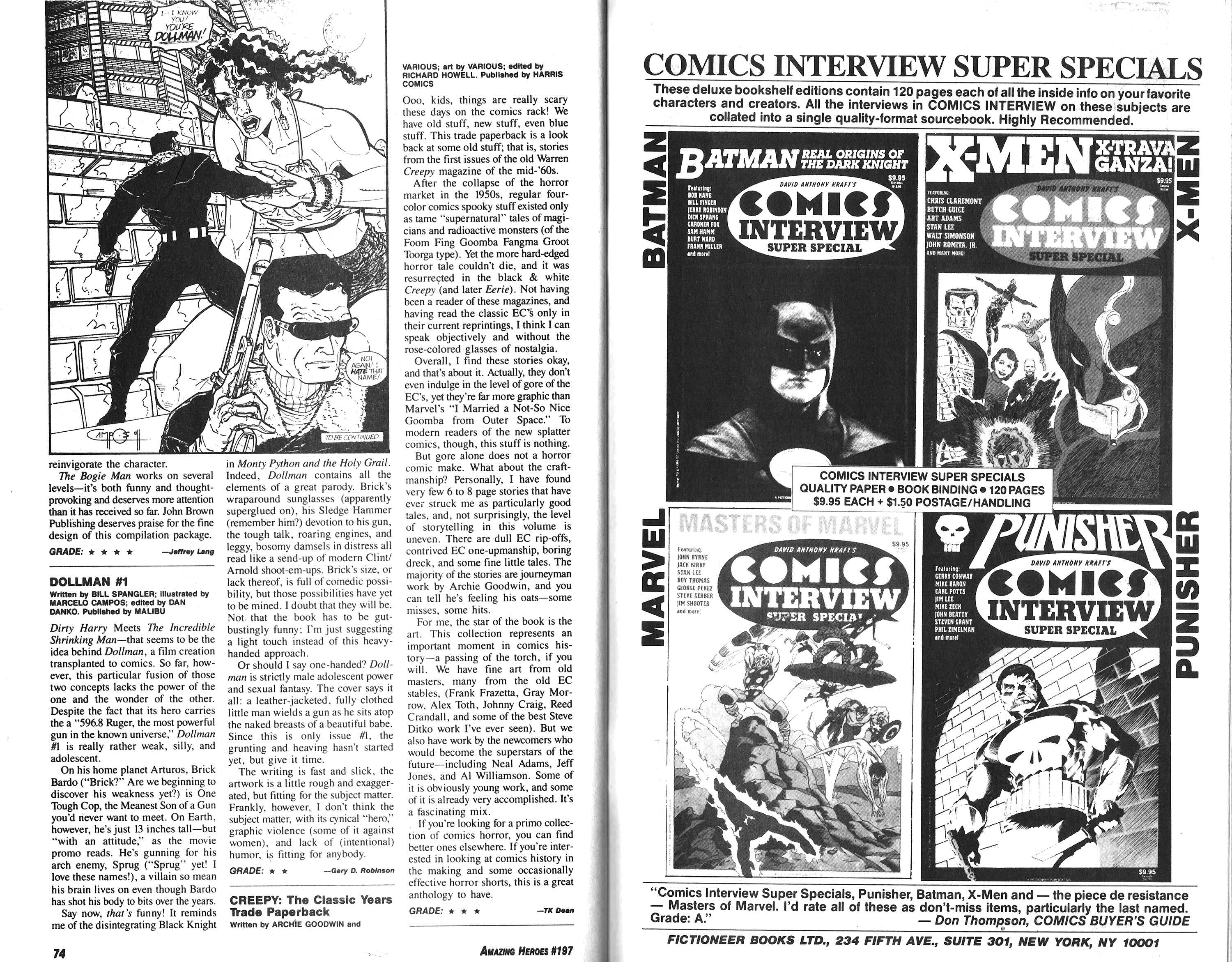 Read online Amazing Heroes comic -  Issue #197 - 38