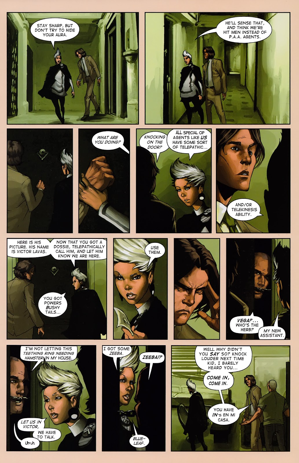 Read online Vescell comic -  Issue #3 - 15