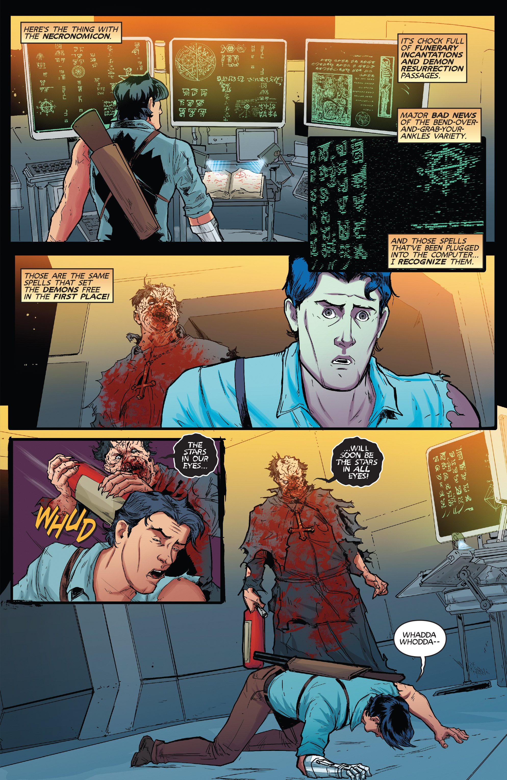 Read online Army of Darkness (2014) comic -  Issue #1 - 20