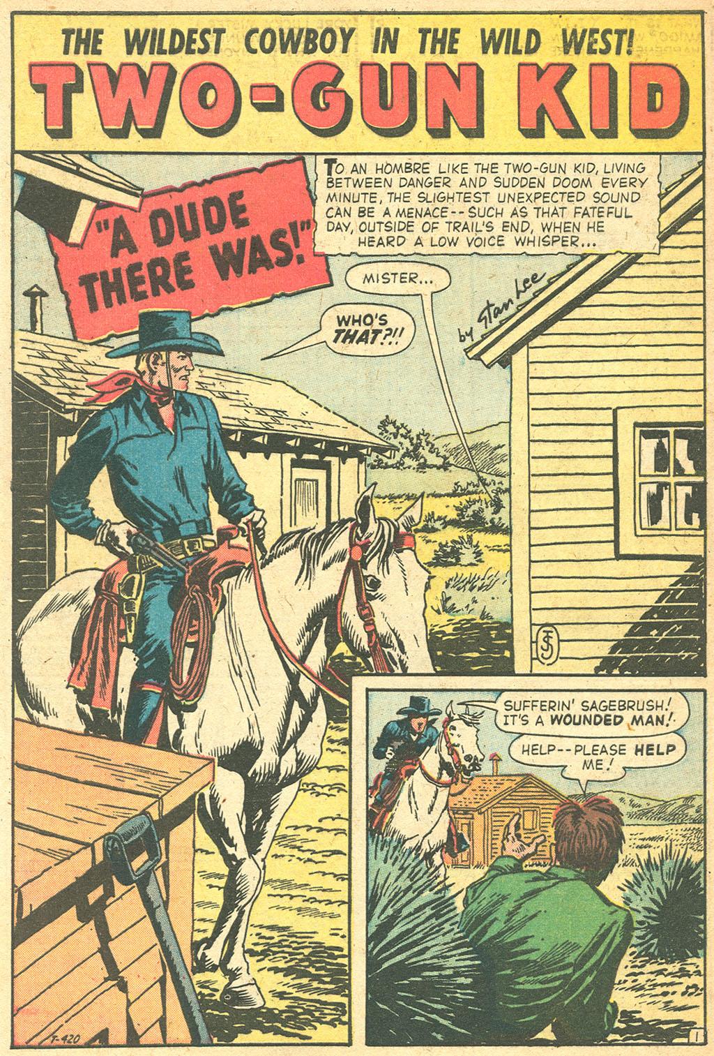 Read online Two-Gun Kid comic -  Issue #50 - 28