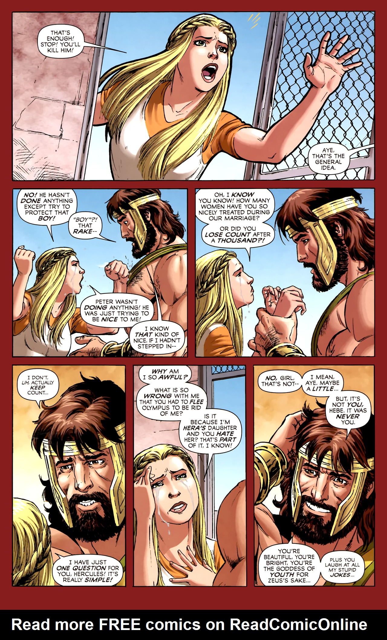 Read online Assault on New Olympus Prologue comic -  Issue #Assault on New Olympus Prologue Full - 24