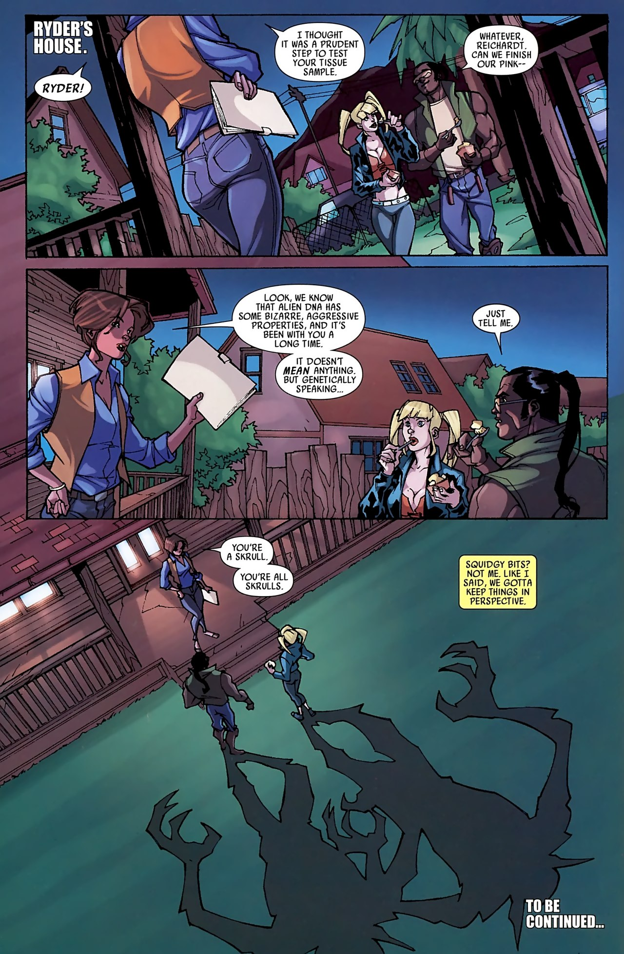 Read online Skrull Kill Krew (2009) comic -  Issue #3 - 24